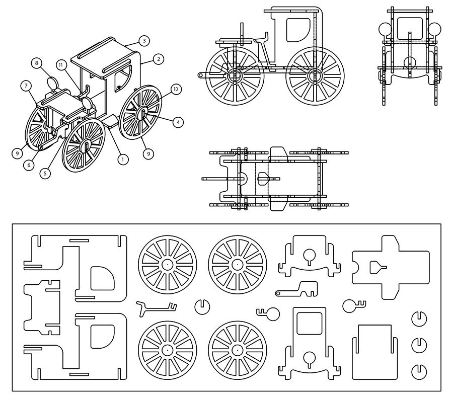 パーツの設計図