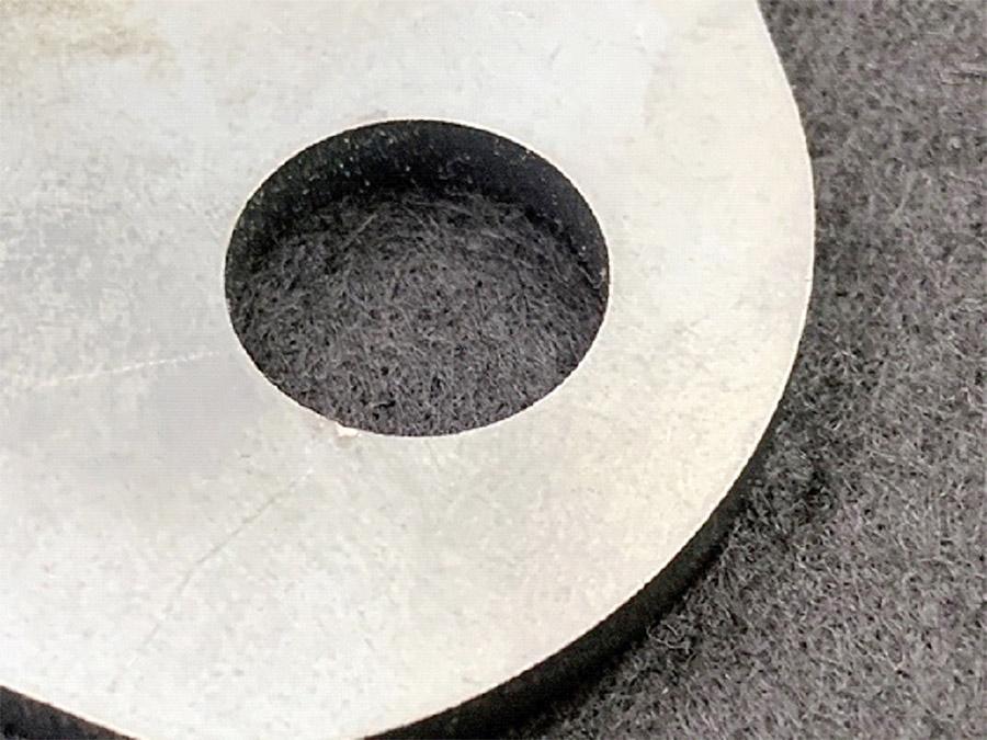 鋼材に開けられる一番小さい穴