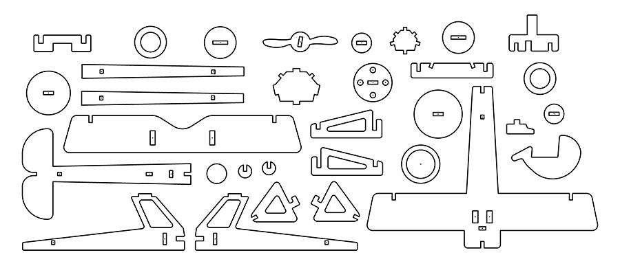 CADの設計図